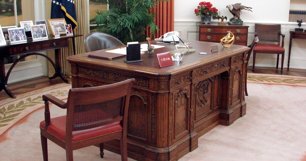 President Reagan's oval office